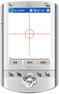 Bluetooth Car C# Control Program