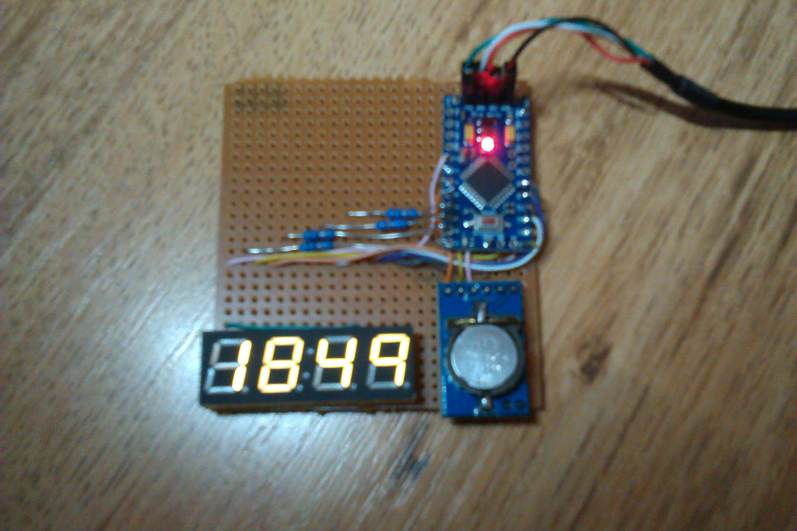 Arduino real time clock tim stableford