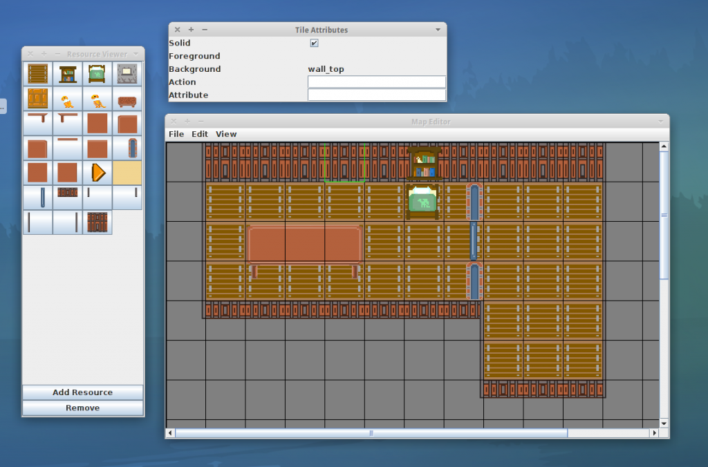 This is a screenshot showing the level designer in use.